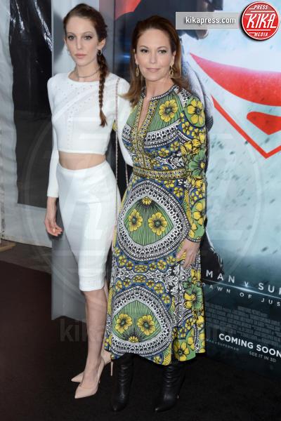 Eleanor Lambert, Diane Lane - New York - 21-03-2016 - Batman v Superman: è giunto il momento