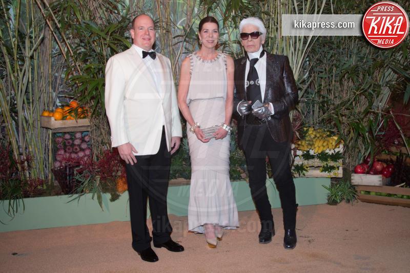 Principe Alberto di Monaco, Principessa Carolina di Monaco, Karl Lagerfeld - Monaco - 19-03-2016 - Karl Lagerfeld, ecco le sue ultime volontà