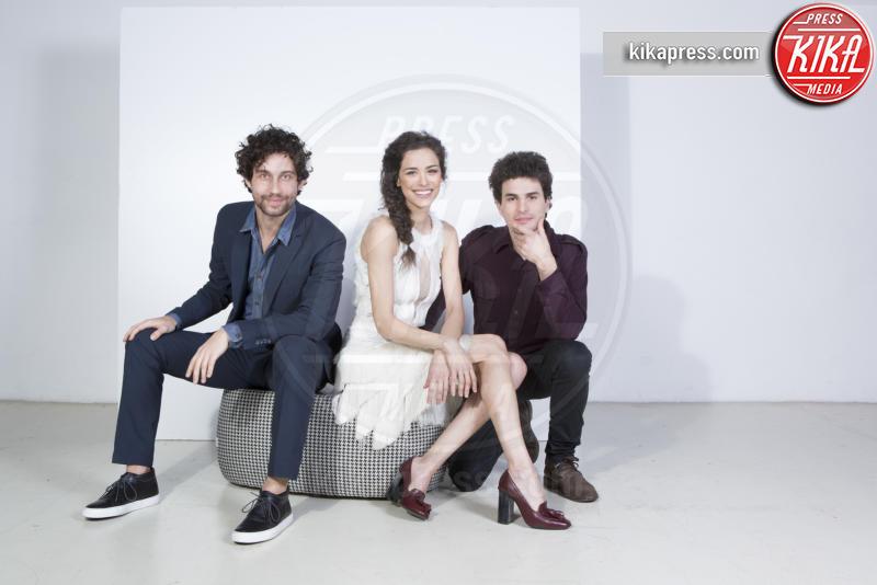 Simone Riccioni, Marianna De Martino, Brenno Placido - Roma - 04-03-2016 - Brenno, Marianna e Simone: Come saltano i pesci? Così!