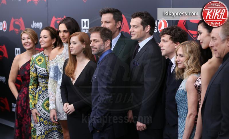 Deborah Snyder, Zack Snyder, Gal Gadot, Amy Adams, Diane Lane, Ben Affleck - New York - 21-03-2016 - Batman v Superman: è giunto il momento