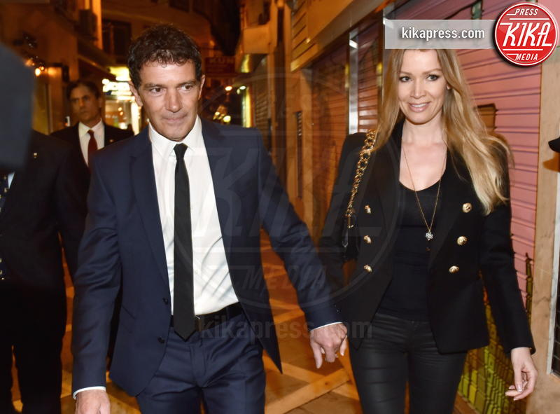 Nicole Kimpel, Antonio Banderas - Malaga - 19-03-2016 - Antonio Banderas ricoverato d'urgenza: paura per l'attore