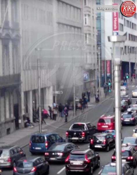 Attentati Bruxelles - Bruxelles - 22-03-2016 - Bruxelles sotto attacco: bombe all'aeroporto e in metropolitana