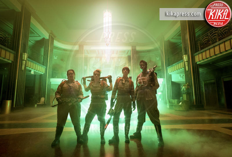 Leslie Jones, Kate McKinnon, Kristen Wiig, Ghostbusters, Melissa McCarthy - 22-03-2016 - Ghostbusters, Paul Feig: