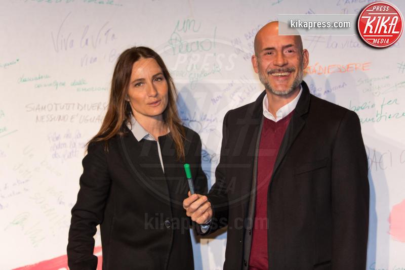 Gianmarco Tognazzi, Maria Sole Tognazzi - Roma - 23-03-2016 - I vip di spettacolo e politica alla prima di Un Bacio