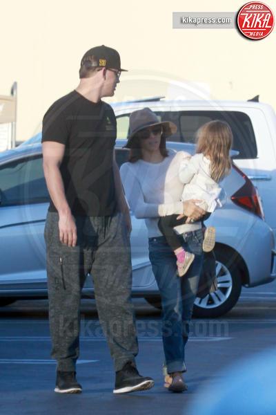 Everly Tatum, Jenna Dewan, Channing Tatum - Los Angeles - 23-03-2016 - Channing Tatum e moglie, anniversario al Chipotle messicano