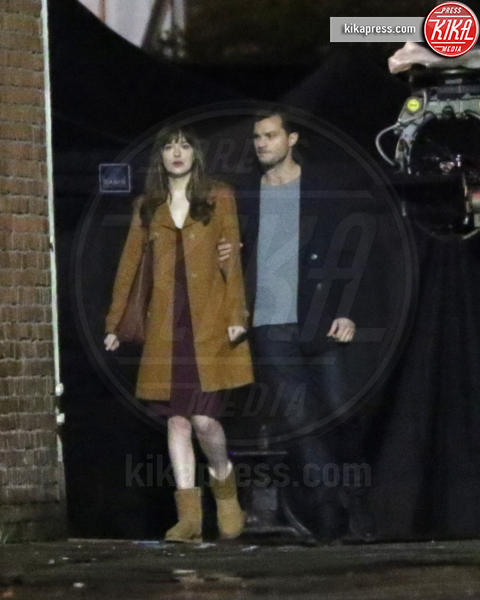 Jamie Dornan, Dakota Johnson - Vancouver - 24-03-2016 -  50 Sfumature di Nero, Dornan e Johnson fanno sognare i fan