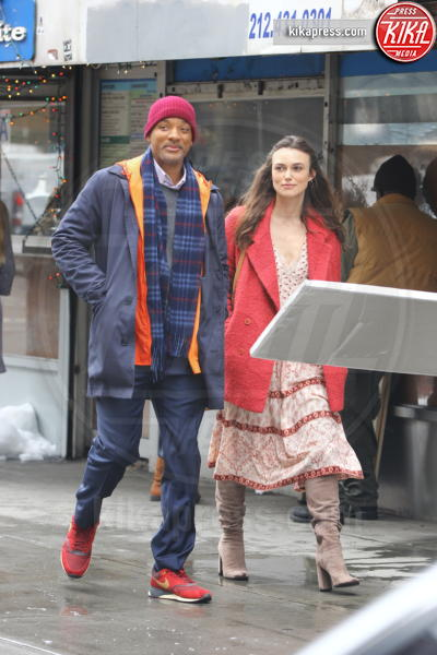 Keira Knightley, Will Smith - New York - 01-04-2016 - Keira Knightley è scontrosa proprio con tutti!