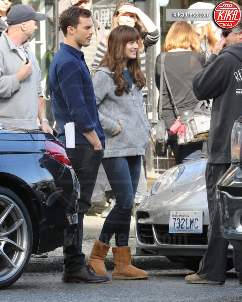 Jamie Dornan, Dakota Johnson - Vancouver - 04-04-2016 - 50 Sfumature di Nero, sesso vero tra Dornan e Dakota Johnson?