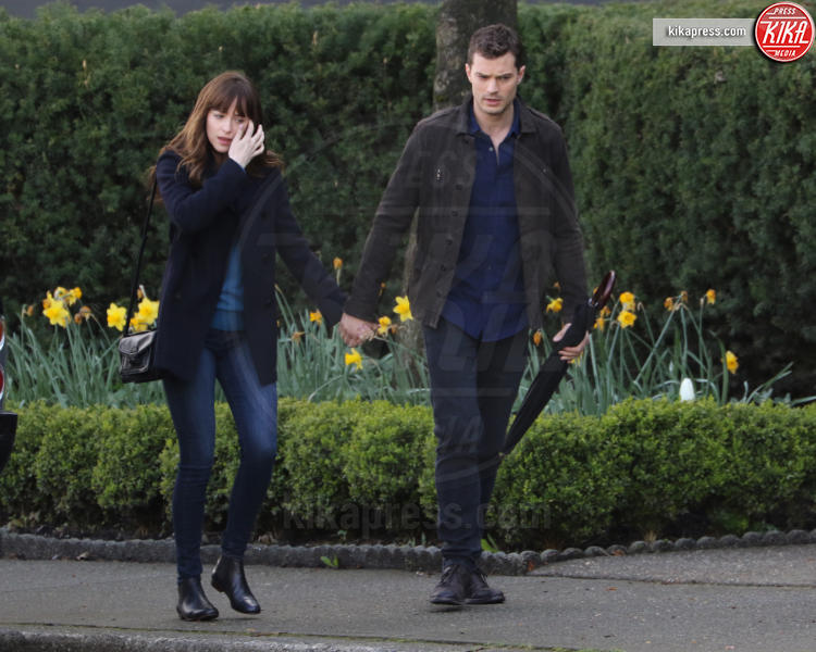 Jamie Dornan, Dakota Johnson - Vancouver - 04-04-2016 - Problemi sul set tra Dakota Johnson e Jamie Dornan