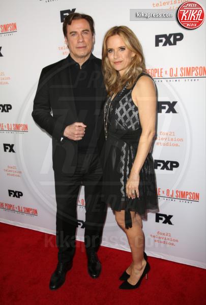 Kelly Preston, John Travolta - Los Angeles - 05-04-2016 - Il caso O.J. Simpson, 10 puntate sul processo degli anni '90