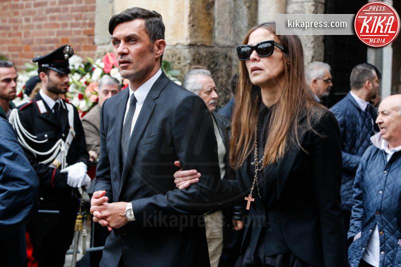 Funerale Cesare Maldini, Adriana Fossa, Paolo Maldini - Milano - 05-04-2016 - Adriana Fossa una vita dedicata a Paolo Maldini
