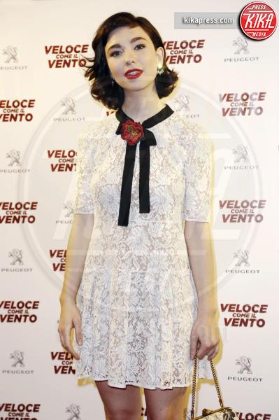Matilda De Angelis - Milano - 06-04-2016 - Bianca Vitali e Stefano Accorsi, coppia d'oro sul red carpet