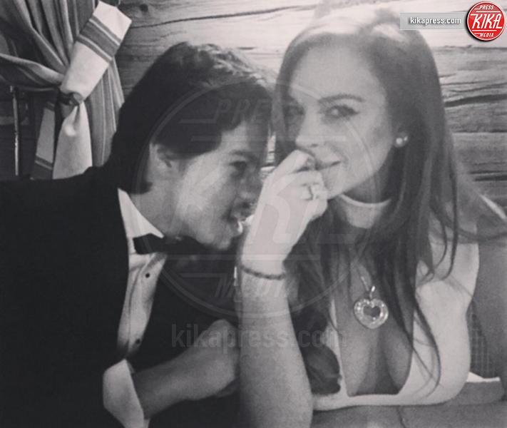 Egor Tarabasov, Lindsay Lohan - 12-04-2016 - Lindsay Lohan incinta, e fidanzata, lo conferma il padre Michael