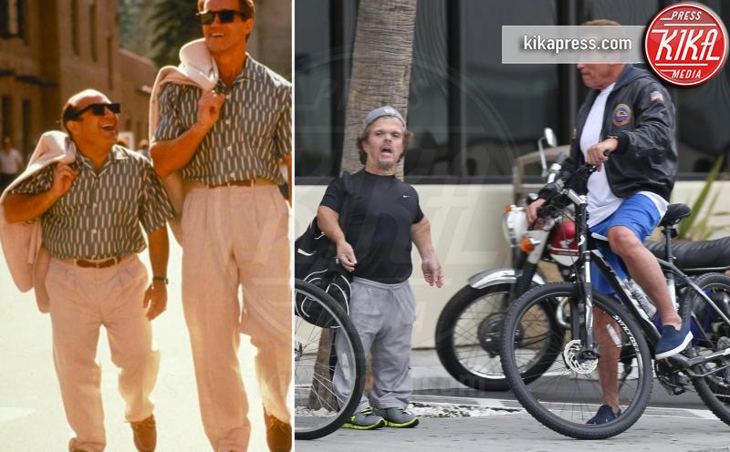 Arnold Schwarzenegger in versione Gemelli 27 anni dopo