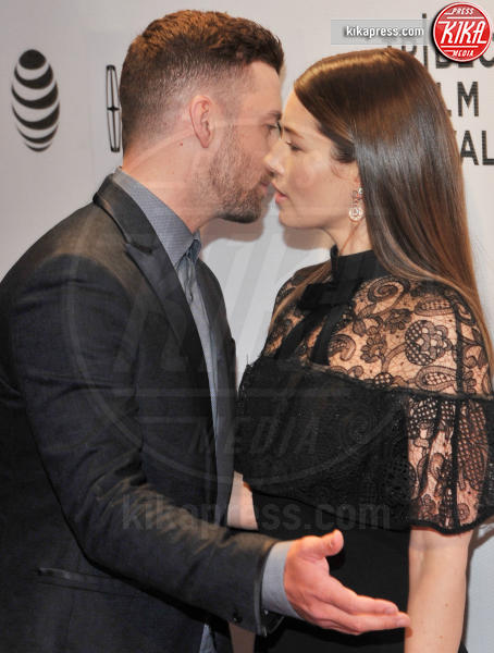 Jessica Biel, Justin Timberlake - New York - 15-04-2016 - La commovente dedica di Justin Timberlake a Jessica Biel