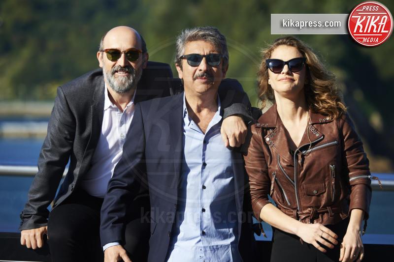 Dolores Fonzi, Ricardo Darin, Javier Camara - San Sebastian - 19-09-2015 - Truman un film potente che resterà nel cuore