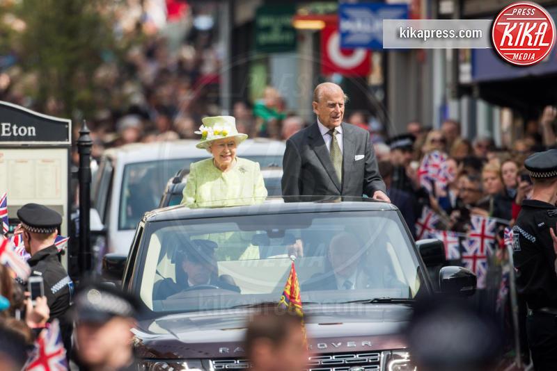 Regina Elisabetta II, Principe Filippo Duca di Edimburgo - Londra - 20-04-2016 - Londra celebra così i 90 anni della Regina Elisabetta II