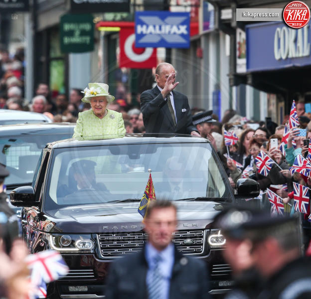 Regina Elisabetta II, Principe Filippo Duca di Edimburgo - Windsor - 21-04-2016 - Londra celebra così i 90 anni della Regina Elisabetta II