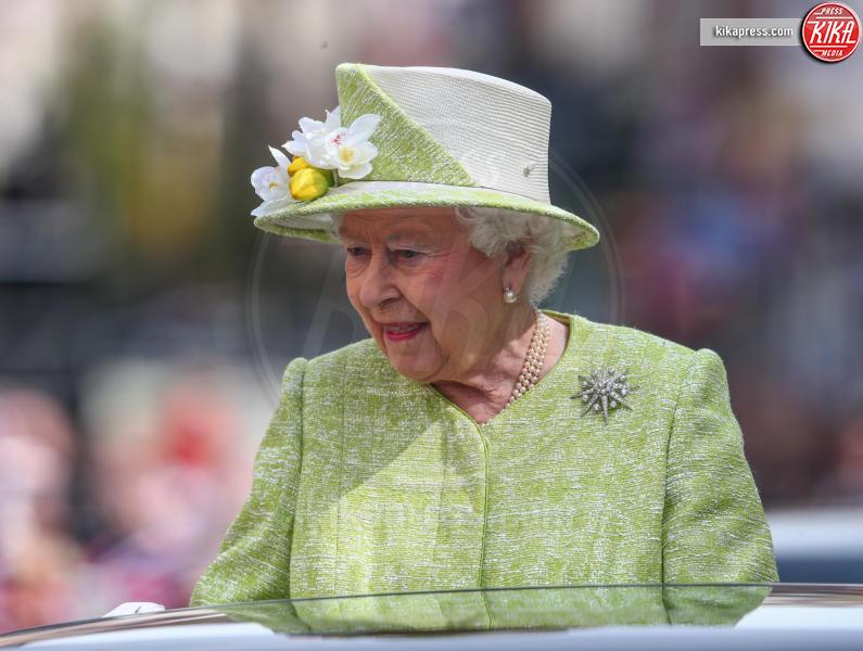 Regina Elisabetta II - Windsor - 21-04-2016 - Londra celebra così i 90 anni della Regina Elisabetta II