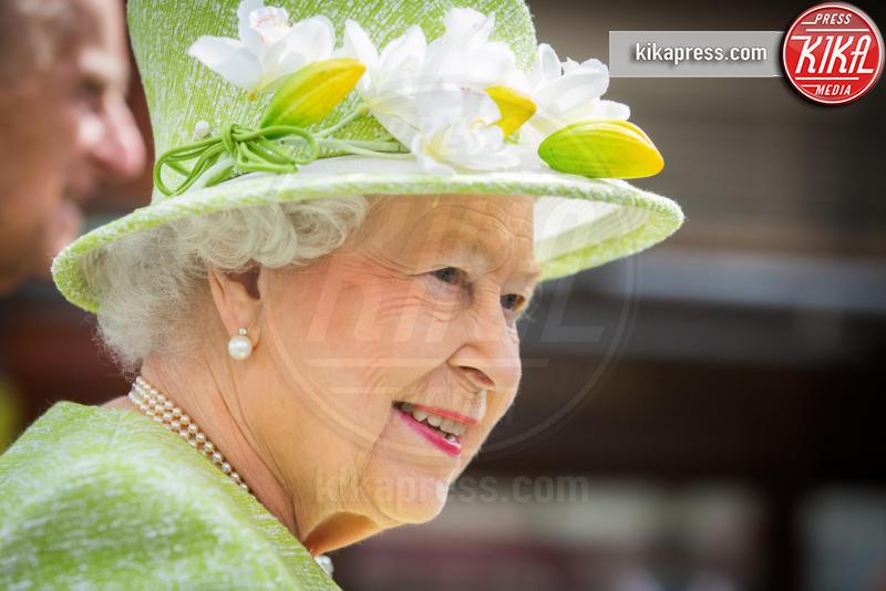 Regina Elisabetta II - Londra - 20-04-2016 - Londra celebra così i 90 anni della Regina Elisabetta II