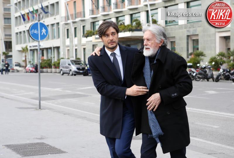 Massimo De Francovich, Lino Guanciale - Roma - 16-11-2015 - Vanessa Incontrada torna su Rai Uno con Non Dirlo al mio capo!