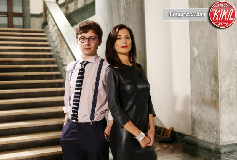 Federico Riccardo Rossi, Giorgia Surina - Roma - 16-11-2015 - Vanessa Incontrada torna su Rai Uno con Non Dirlo al mio capo!