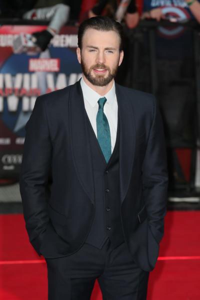 Chris Evans - Londra - 26-04-2016 - Captain America: Civil War, gli Dei Marvel sbarcano a Londra