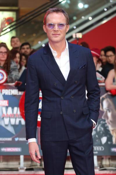 Paul Bettany - Londra - 26-04-2016 - Captain America: Civil War, gli Dei Marvel sbarcano a Londra