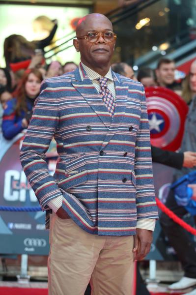 Samuel L. Jackson - Londra - 26-04-2016 - Captain America: Civil War, gli Dei Marvel sbarcano a Londra