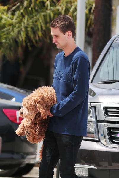Evan Spiegel - Los Angeles - 26-04-2016 - Miranda Kerr ed Evan Speigel convolano a nozze