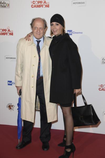 Marco Merati Foscarini, Anna Kanakis - Roma - 26-04-2016 - Boldi-De Nardis, la vera coppia dei campioni