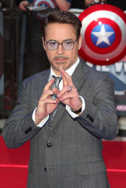 Robert Downey Jr - Londra - 26-04-2016 - Robert Downey Jr. lavora a una serie tv su Perry Mason