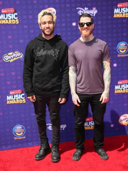 Andy Hurley, Pete Wentz, Fall Out Boy - Los Angeles - 30-04-2016 - Disney: la nipotina di Gwen Stefani già una fashion victim