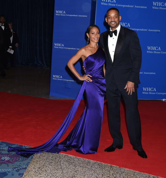 Will Smith, Jada Pinkett Smith - Washington - 30-04-2016 - Cruz-Bardem & co: gli amori più romantici dello showbiz