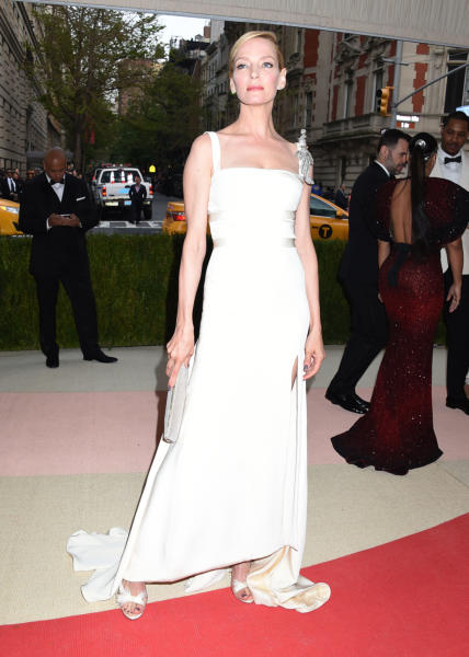 Uma Thurman - New York - 02-05-2016 - Taylor Swift argento vivo ai MET Gala 2016