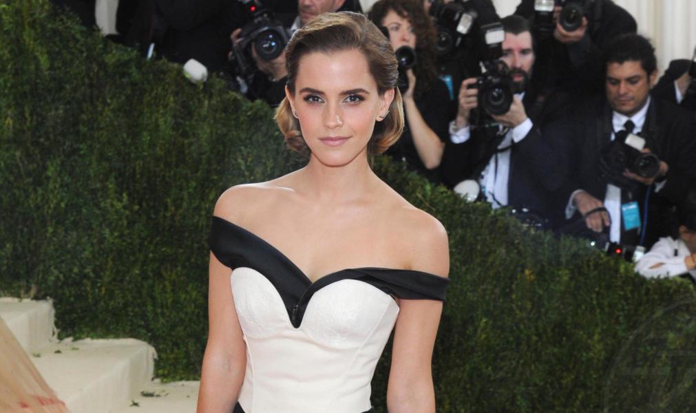 Emma Watson - New York - 02-05-2016 - Emma Watson: le prime foto della Bella e la Bestia