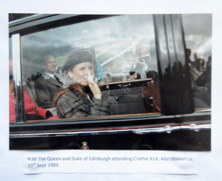 27-04-2016 - Sheila Clark, da 50 anni la fan n. 1 della regina Elisabetta II