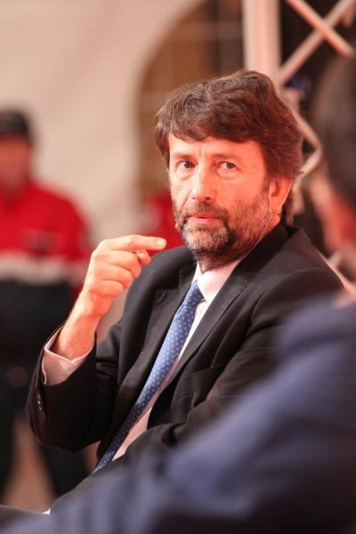 Dario Franceschini - Dogliani - 05-05-2016 - Franceschini-De Benedetti: al via il Festival della Tv