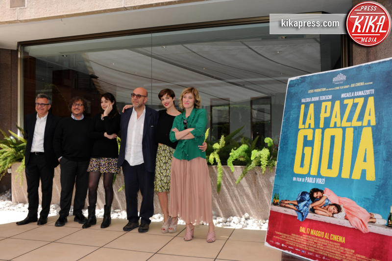 Cast La Pazza Gioia - Roma - 06-05-2016 - La Pazza Gioia: Paolo Virzì firma un nuovo gioiello