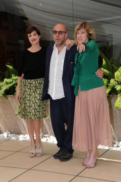 Paolo Virzì, Valeria Bruni Tedeschi, Micaela Ramazzotti - Roma - 06-05-2016 - La Pazza Gioia: Paolo Virzì firma un nuovo gioiello