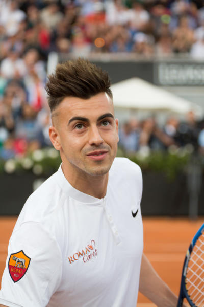 Stephan El Shaarawy - Roma - 09-05-2016 - Francesco Totti, re di Roma anche a tennis