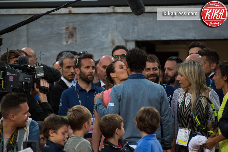 Fabio Fognini, Flavia Pennetta, Francesca Schiavone - Roma - 09-05-2016 - Flavia Pennetta e Fabio Fognini hanno detto sì