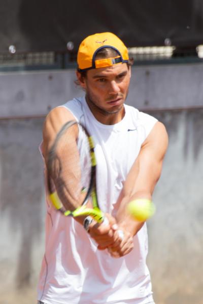 Rafael Nadal - Roma - 10-05-2016 - Rafael Nadal: il Re di Roma si prepara per i BNL 2016