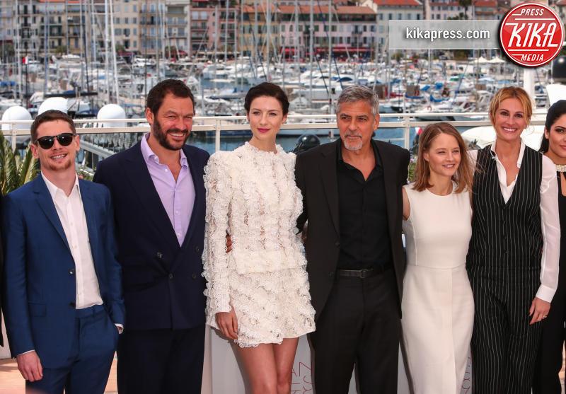 Catriona Balfe, Jack O'Connell, Dominic West, Jodie Foster, George Clooney, Julia Roberts - Cannes - 12-05-2016 - Cannes 2016: la seconda giornata della kermesse