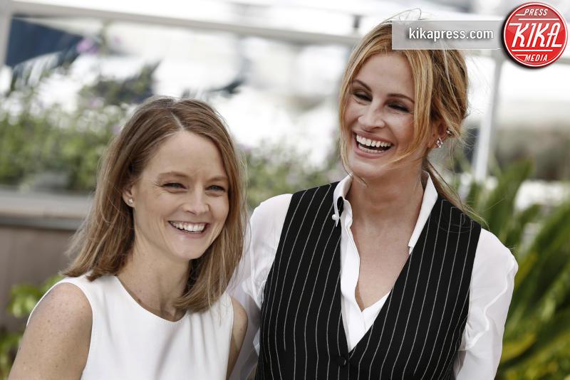 Jodie Foster, Julia Roberts - Cannes - 13-05-2016 - Cannes 2016 cala la coppia d'assi Clooney-Roberts