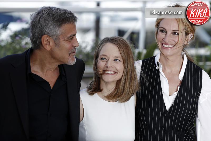 Jodie Foster, George Clooney, Julia Roberts - Cannes - 13-05-2016 - Cannes 2016 cala la coppia d'assi Clooney-Roberts