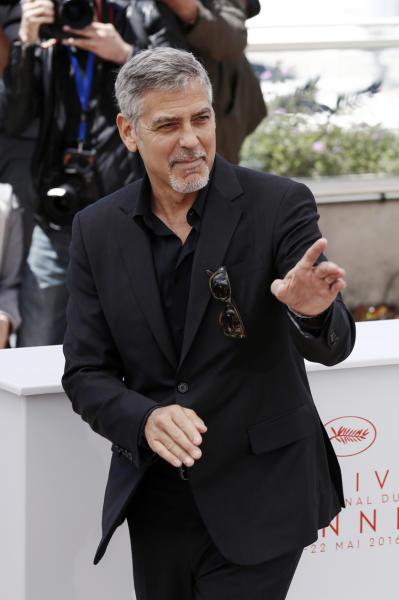 George Clooney - Cannes - 13-05-2016 - Cannes 2016 cala la coppia d'assi Clooney-Roberts
