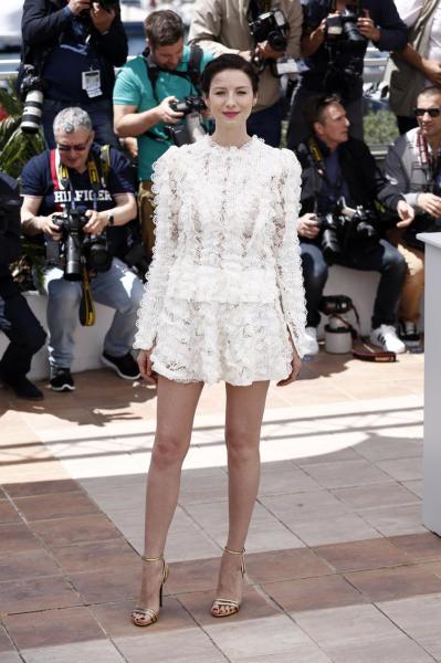 Caitriona Balfe - Cannes - 13-05-2016 - Cannes 2016 cala la coppia d'assi Clooney-Roberts