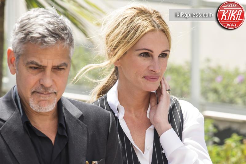 George Clooney, Julia Roberts - Cannes - 12-05-2016 - Cannes 2016: la seconda giornata della kermesse