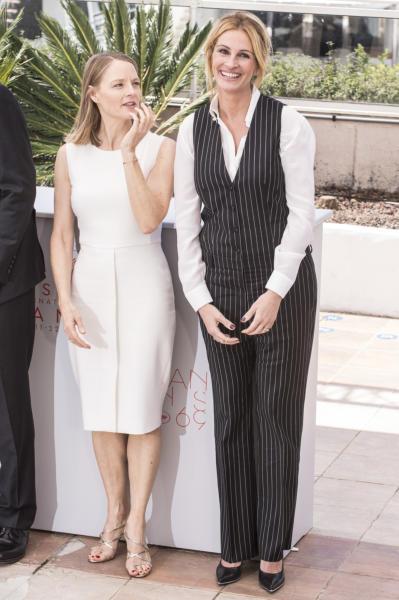 Jodie Foster, Julia Roberts - Cannes - 12-05-2016 - Cannes 2016: la seconda giornata della kermesse